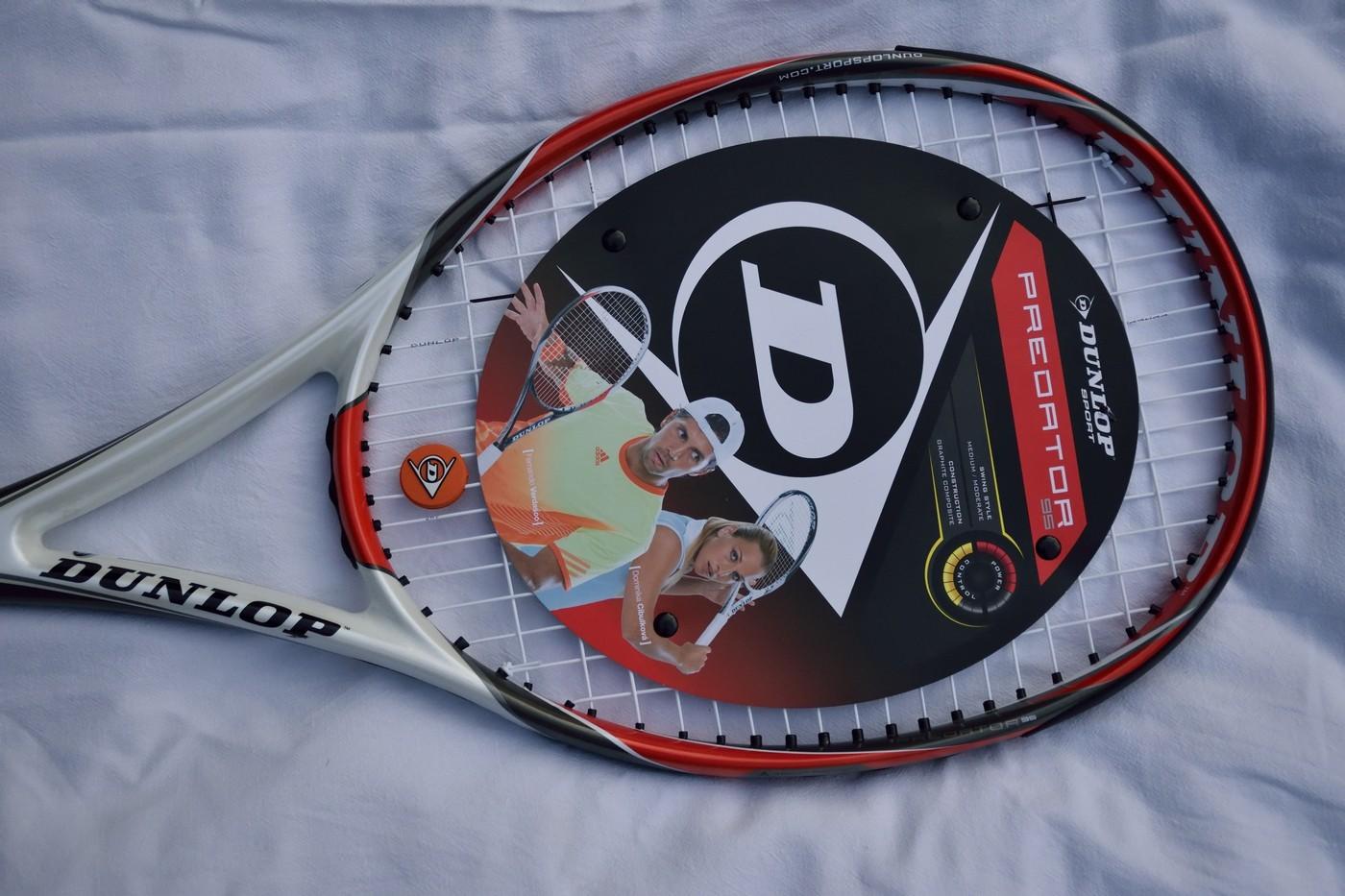 Dunlop Aerogel Power tenisová raketa pro mírně pokročilé a pokročilé hráče L3 a L4